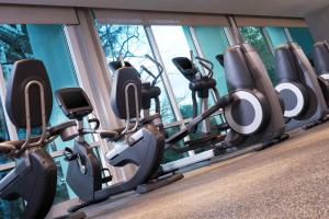 The fitness center and/or fitness facilities at Le Meridien Atlanta Perimeter