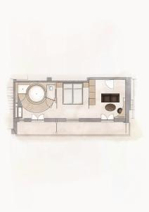 The floor plan of Staudacherhof History & Lifestyle