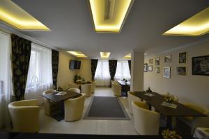 Restauracja lub miejsce do jedzenia w obiekcie Pensjonat Irena
