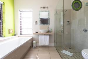 A bathroom at Derwent House