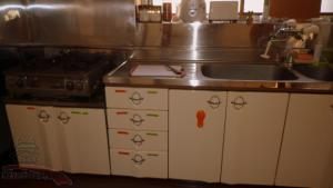 A kitchen or kitchenette at Matsumoto BackPackers