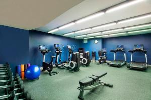 The fitness centre and/or fitness facilities at Four Points by Sheraton New York Downtown