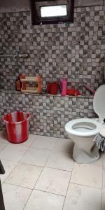 A bathroom at Vamoose Bidyasagar