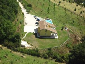 Vista aerea di La Locanda San Lorenzo