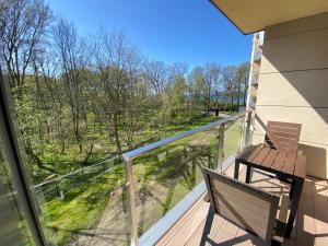 Balkon lub taras w obiekcie Diune Resort & Apartamenty