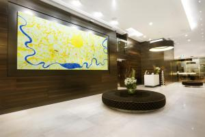 The lobby or reception area at Art Series - The Olsen