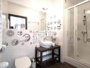 Łazienka w obiekcie Hotel Willowa