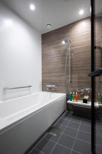A bathroom at Cross Hotel Kyoto