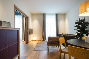 Zona de estar de Hotel Arbaso