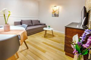 Część wypoczynkowa w obiekcie JessApart– Babka Tower Apartment