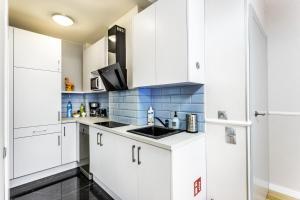 Kuchnia lub aneks kuchenny w obiekcie JessApart– Babka Tower Apartment
