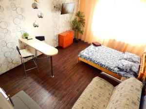 Гостиная зона в Apartment-studio Sunset