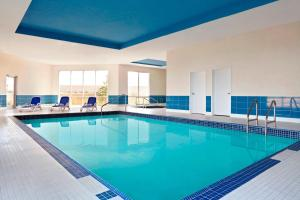 The swimming pool at or near Four Points by Sheraton Edmonton Gateway