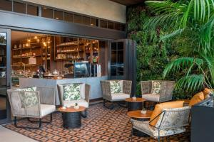 The lounge or bar area at The Dalmar, Fort Lauderdale, a Tribute Portfolio Hotel
