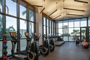 The fitness center and/or fitness facilities at The Dalmar, Fort Lauderdale, a Tribute Portfolio Hotel