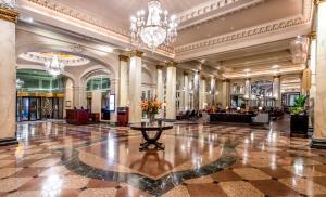 The lobby or reception area at The Fairmont Palliser