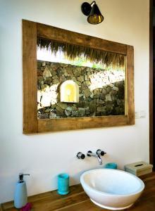 A bathroom at Segara Lombok
