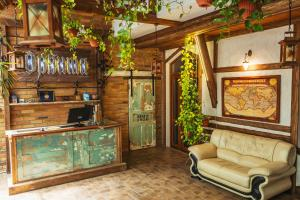 A kitchen or kitchenette at Orbita Boutique Hotel