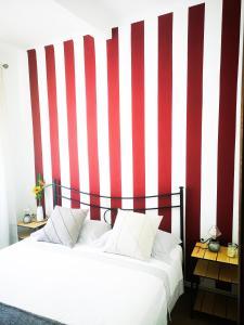 Cama ou camas em um quarto em Punto Zero