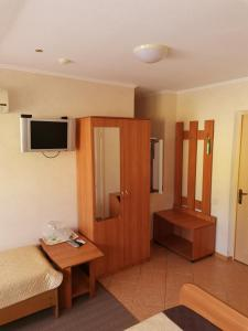 Телевизор и/или развлекательный центр в Hotel Arkona