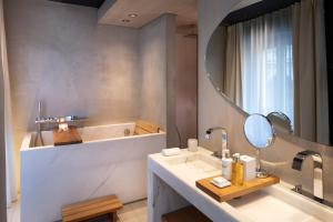 A bathroom at Hotel de Nell