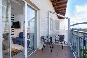 Balkon lub taras w obiekcie Apartamenty Latarnia Morska – Sun Seasons 24