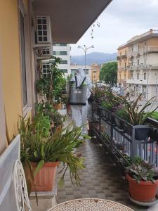 Balcone o terrazza di Allaportaccanto Bed & Breakfast