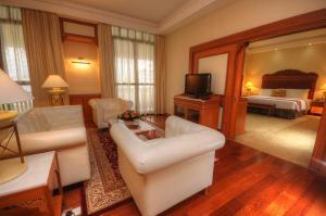A seating area at Royale Chulan Kuala Lumpur