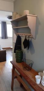 Küche/Küchenzeile in der Unterkunft Bij De Vuurtoren