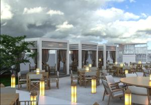 A restaurant or other place to eat at Kempinski Hotel The Dome Belek Golf and Thalasso