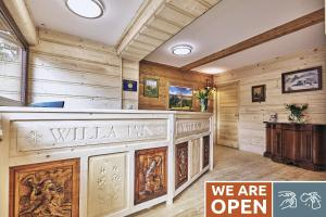 The lobby or reception area at Willa Jan