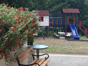 Children's play area at Zlote Modrzewie