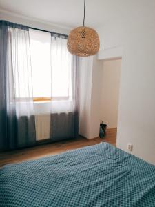 Posteľ alebo postele v izbe v ubytovaní Apartment Dubnica Prejta 3