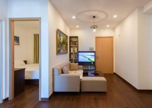 A seating area at Anita Apartment