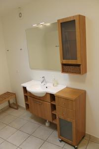 A bathroom at Amalie Bed and Breakfast & Apartments