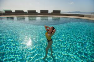 The swimming pool at or near Lilium Santorini Villa