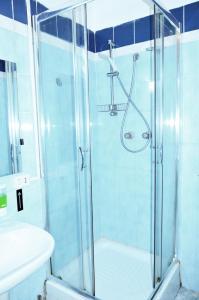 Kupatilo u objektu Hotel New Milan