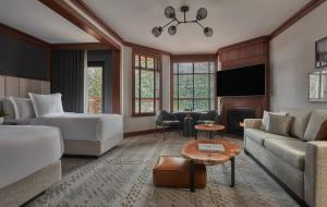 A seating area at Four Seasons Resort Whistler