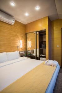 Кровать или кровати в номере Отель ТатарИнн