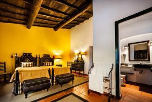 Uma cama ou camas num quarto em Quinta Da Espada