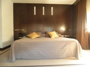 Cama o camas de una habitación en Hotel Francisco II