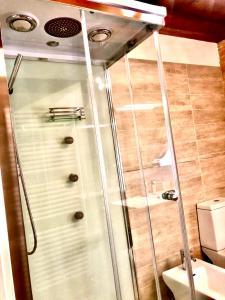 A bathroom at B&B la Serenissima