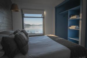 Cama o camas de una habitación en Kau Lodge