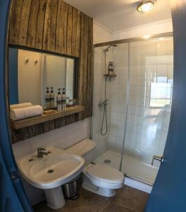 Un baño de Kau Lodge