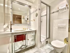 Ein Badezimmer in der Unterkunft Villa Turnerwirt