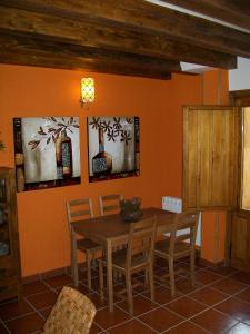 Área para comer en the country house