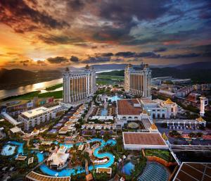 A bird's-eye view of Galaxy Macau