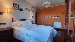Cama o camas de una habitación en Hotel 3 Alpacas