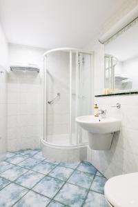 A bathroom at Hotel Wersal