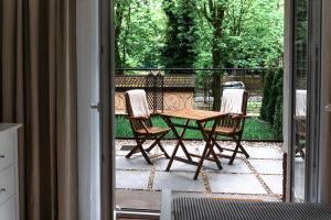 A balcony or terrace at Apartamenty w Świnoujściu